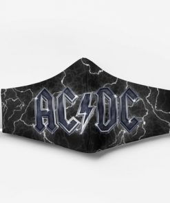 ACDC band full printing face mask 4