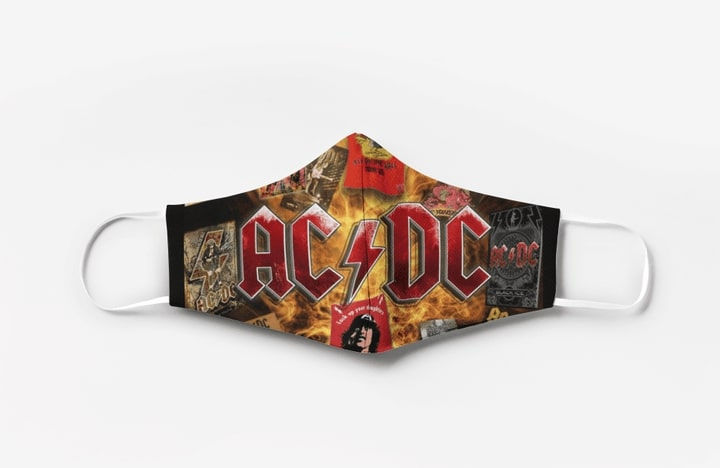 ACDC full printing face mask 1