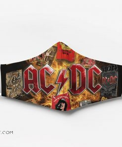 ACDC full printing face mask