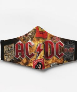 ACDC full printing face mask 4