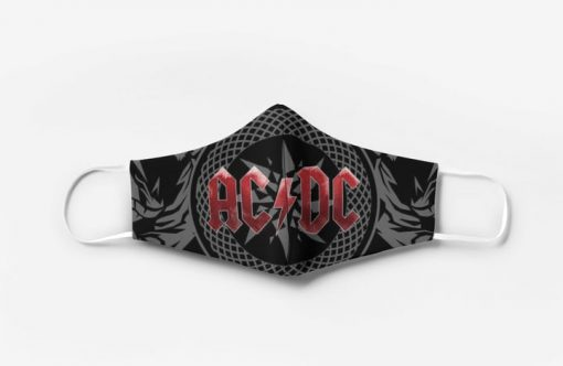 ACDC rock band full printing face mask 4