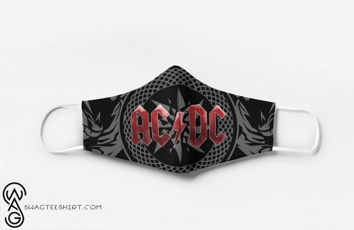 ACDC rock band full printing face mask