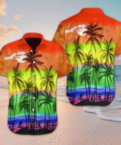 Beach hawaii lgbt hawaiian shirt 4