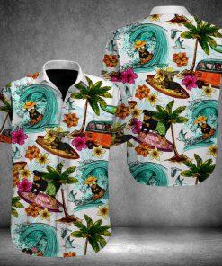 Beach hawaii rottweiler hawaiian shirt 3