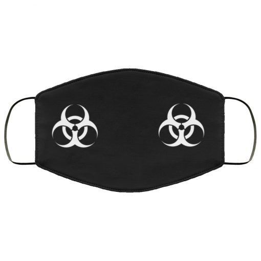 Biological hazard anti pollution face mask 1