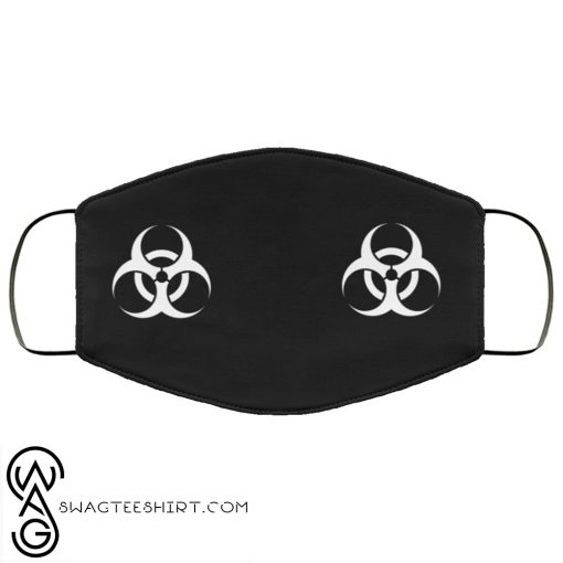 Biological hazard anti pollution face mask