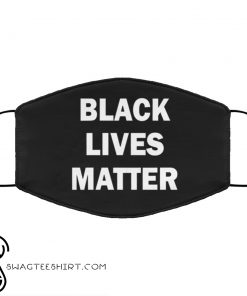 Black lives matter anti pollution face mask