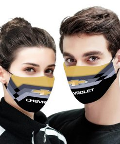 Chevrolet anti pollution face mask 1