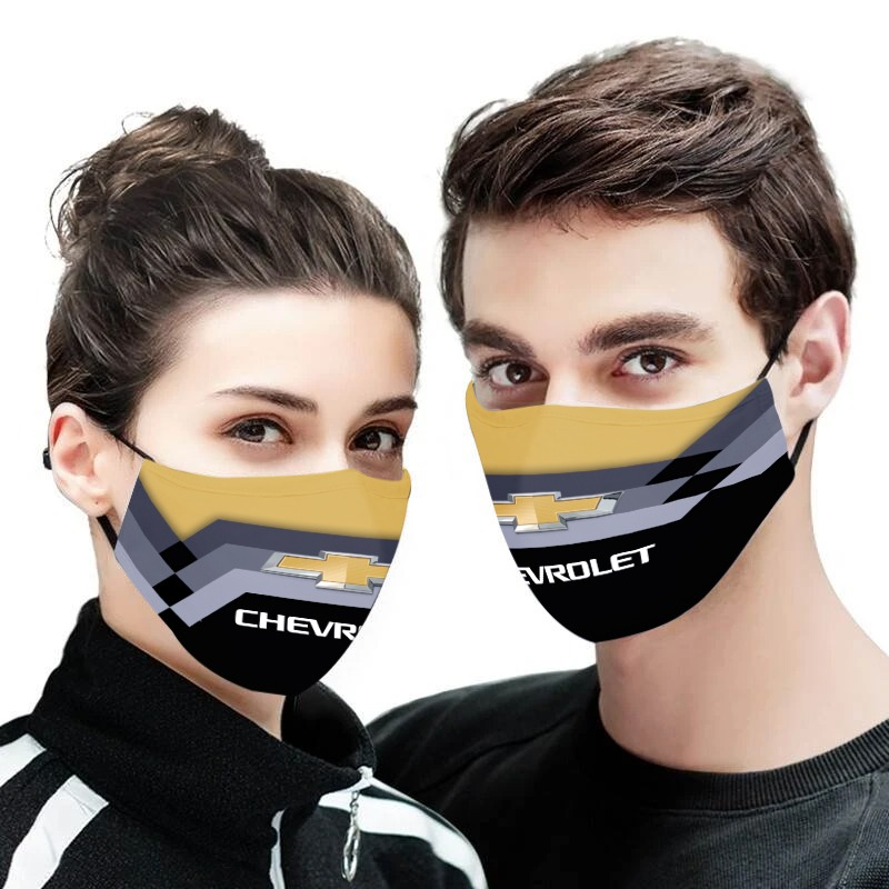 Chevrolet anti pollution face mask 3