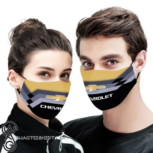 Chevrolet anti pollution face mask
