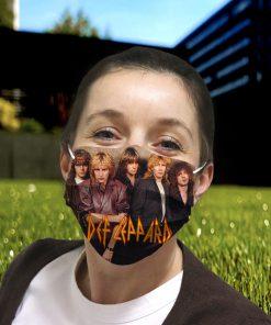 Def leppard hard rock anti pollution face mask 2