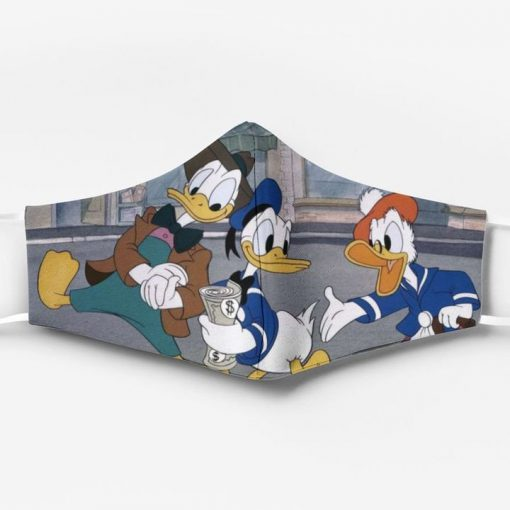 Donald duck and friends full printing face mask 2
