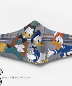 Donald duck and friends full printing face mask