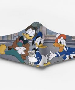 Donald duck and friends full printing face mask 3