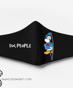 Donald duck ew people full printing face mask