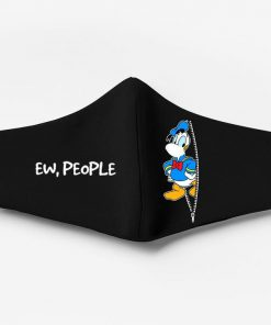 Donald duck ew people full printing face mask 4