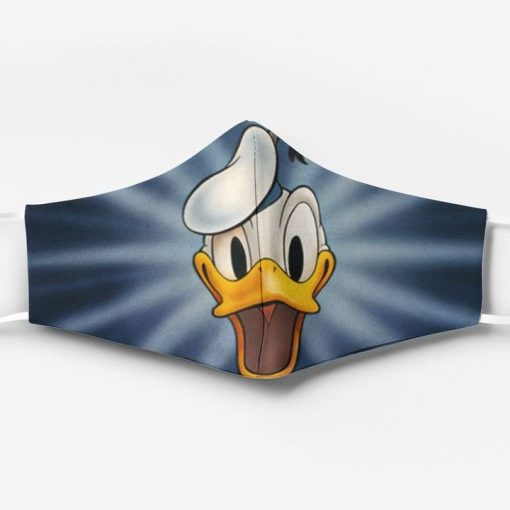 Donald duck face full printing face mask 1