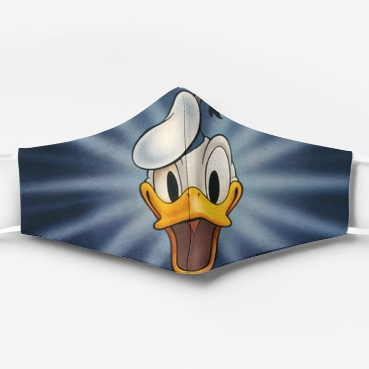 Donald duck face full printing face mask 4