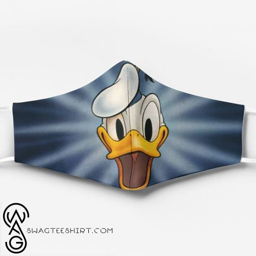 Donald duck face full printing face mask