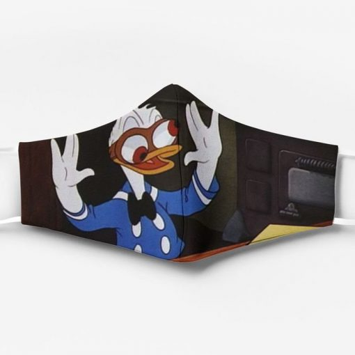 Donald duck full printing face mask 1