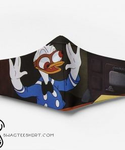 Donald duck full printing face mask