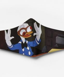 Donald duck full printing face mask 4