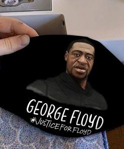 George floyd justice for floyd full printing face mask 3