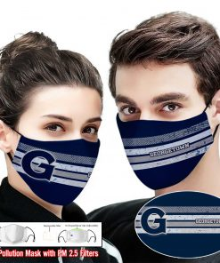 Georgetown hoyas this is how i save the world full printing face mask 2