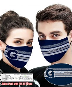 Georgetown hoyas this is how i save the world full printing face mask