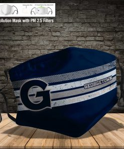 Georgetown hoyas this is how i save the world full printing face mask 3