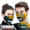 Green bay packers this is how i save the world full printing face mask