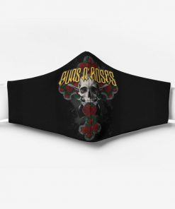 Guns n' roses rock band full printing face mask 4