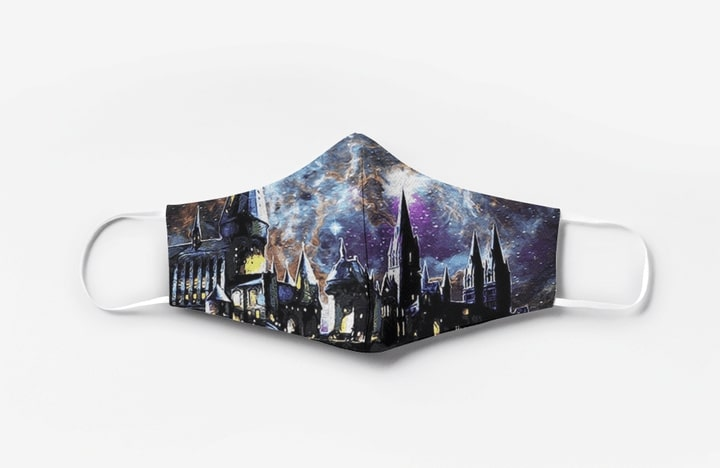 Harry potter hogwarts full printing face mask 1