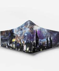 Harry potter hogwarts full printing face mask 2