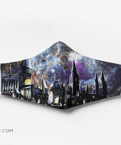 Harry potter hogwarts full printing face mask