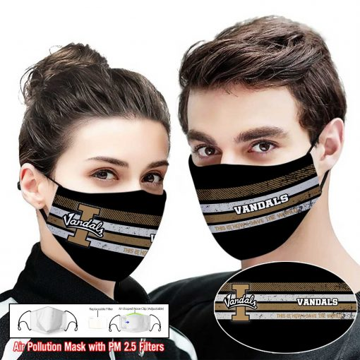 Idaho vandals this is how i save the world full printing face mask 1