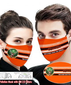Jagermeister this is how i save the world full printing face mask 1