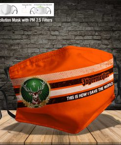 Jagermeister this is how i save the world full printing face mask 3