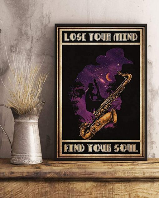Jazz lose your mind find your soul poster 2