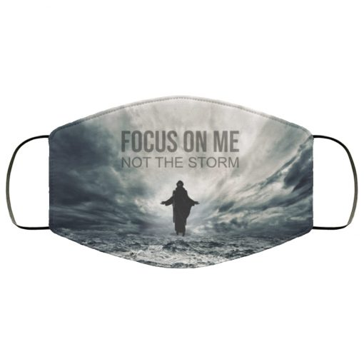 Jesus focus on me not the storm anti pollution face mask 1