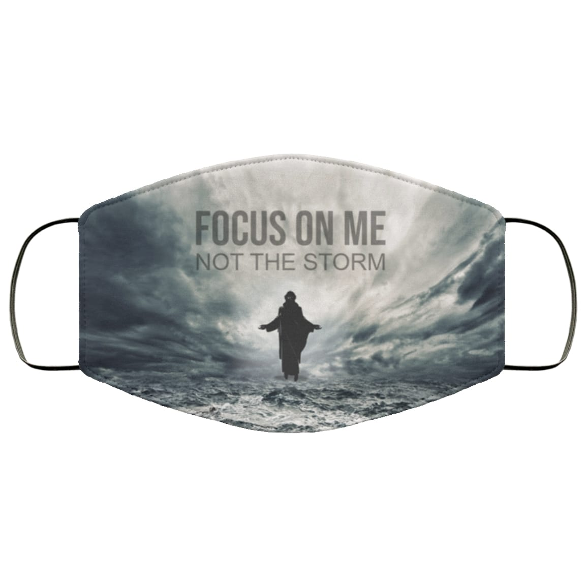 Jesus focus on me not the storm anti pollution face mask 2