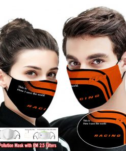 KTM racing this is how i save the world full printing face mask 1