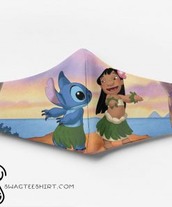 Lilo and stitch ew people full printing face mask