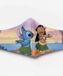 Lilo and stitch ew people full printing face mask 3
