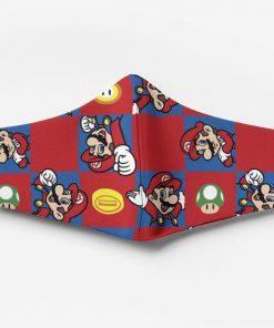 Mario game full printing face mask 4