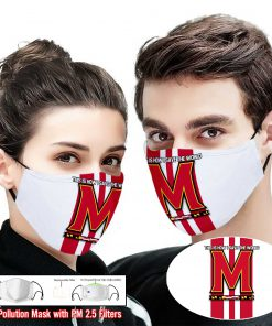 Maryland terrapins this is how i save the world face mask 2