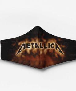 Metallica rock band full printing face mask 1