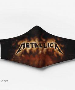 Metallica rock band full printing face mask