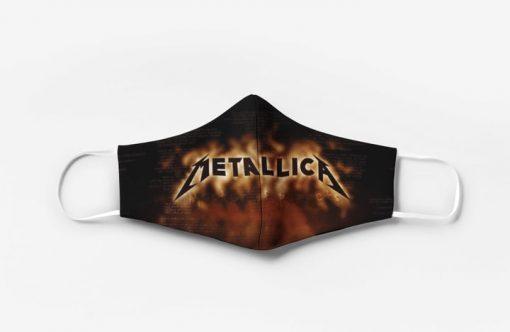 Metallica rock band full printing face mask 3