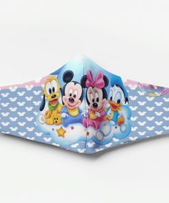 Mickey mouse babies full printing face mask 2